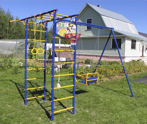детский спортивный комплекс веселый